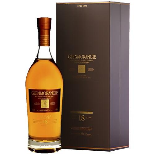 ウイスキー グレンモーレンジ 18年 正規品 700ml 箱付 (28-0)(99811) 洋酒 Whisky