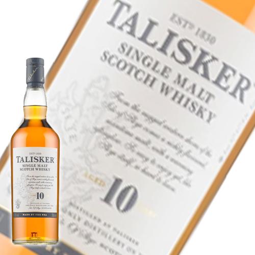 誕生日 ギフト 業務用にも最適 ウイスキー タリスカー 10年 Whisky 公式サイト 洋酒 70082☆ 700ml 34-4 男女兼用