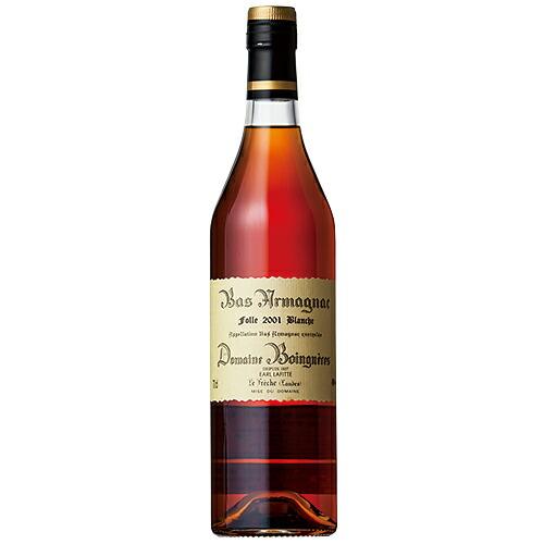 ブランデー ドメーヌ ボワニエル 2001 フォルブランシュ 700ml (73-5)(72707) 洋酒 brandy