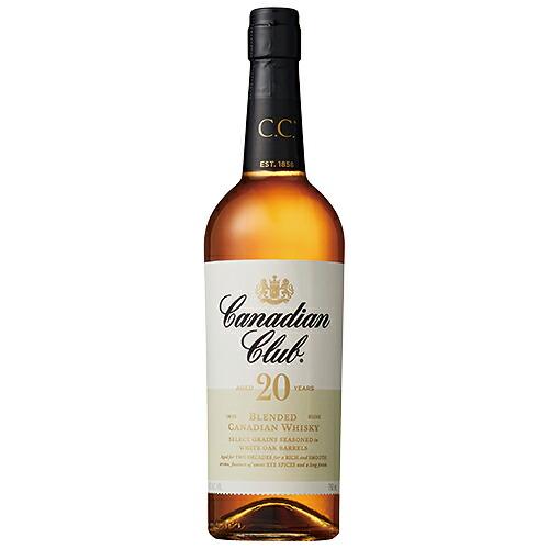 ウイスキー カナディアンクラブ 20年 正規品 750ml (28-0)(90933) 洋酒 Whisky