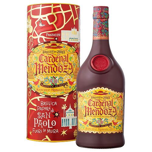 誕生日 ギフト 業務用にも最適! ブランデー サンチェス ロマテ カーディナルメンドーサ ジュビレオ シェリーブランデー 700ml (73224) 洋酒 brandy(73-5)