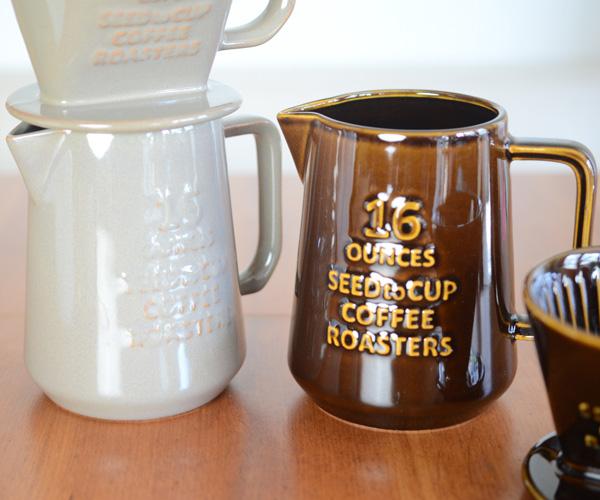 人気のスタジオMのおしゃれな陶器のコーヒーサーバー ドリッパーと一緒にどうぞ スタジオM コーヒーロースターズ ピッチャー コーヒーサーバー おしゃれ 日時指定 m 毎日激安特売で 営業中です 日本製 studio スタジオM スタジオエム MTB006 陶器