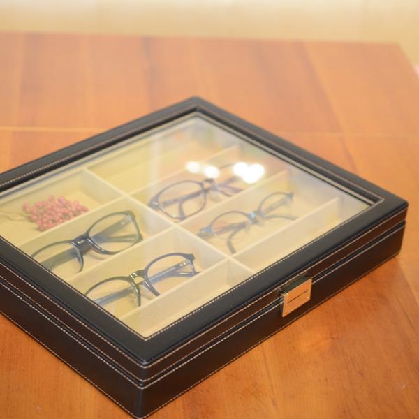 メガネケース8本用【メガネ/眼鏡/収納/おしゃれ】
