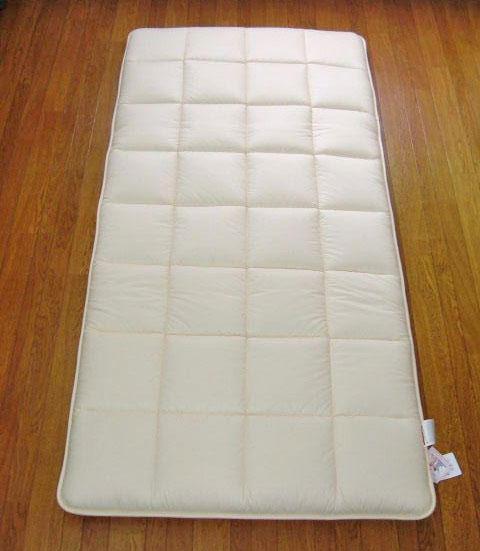 フランス産羊毛&防ダニ混フォームエース新素材敷布団シングルサイズ