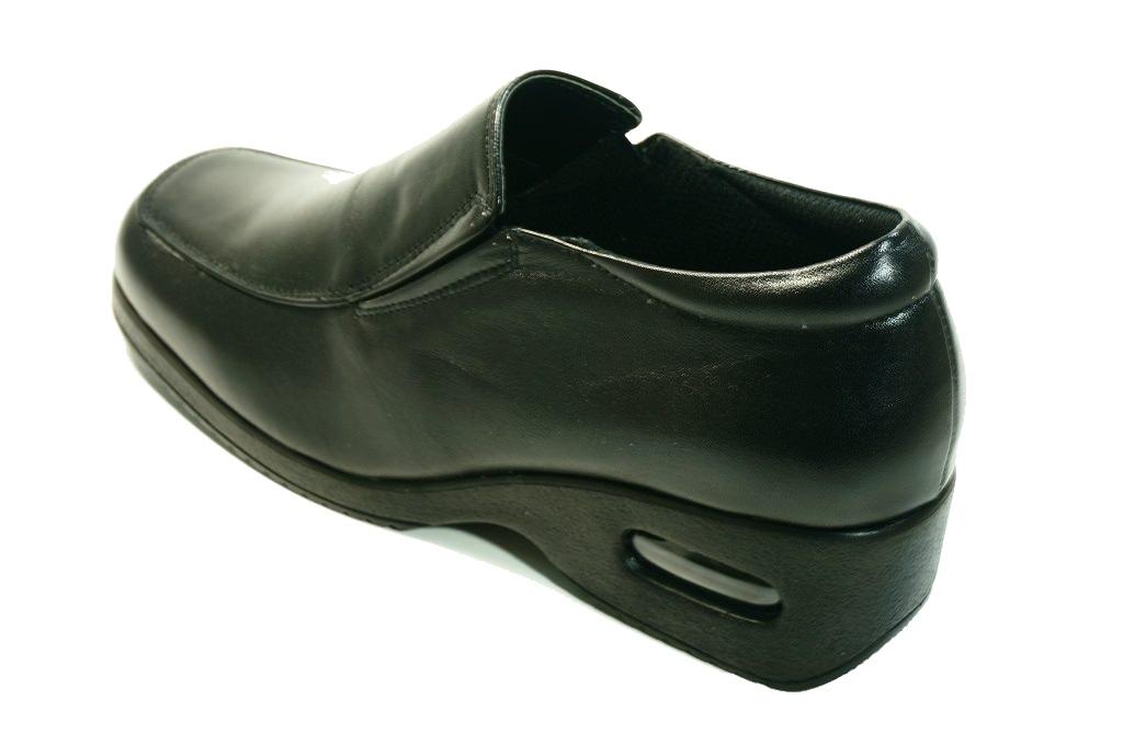 立ち仕事靴婦人革靴疲れない靴痛くない靴らくらくモールド・エアークッション