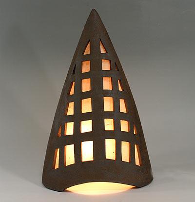 和風照明・北のすまいブラウン 【インテリア照明】【和風スタンドライト】【陶器】