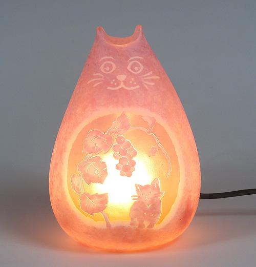 Art Mirage ランプ 猫ピンク(スタンド照明)/20%OFF