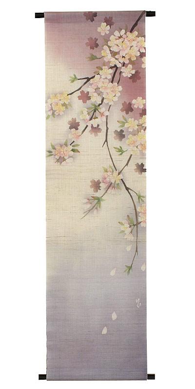 桜 タペストリー・桜咲く / 和モダン