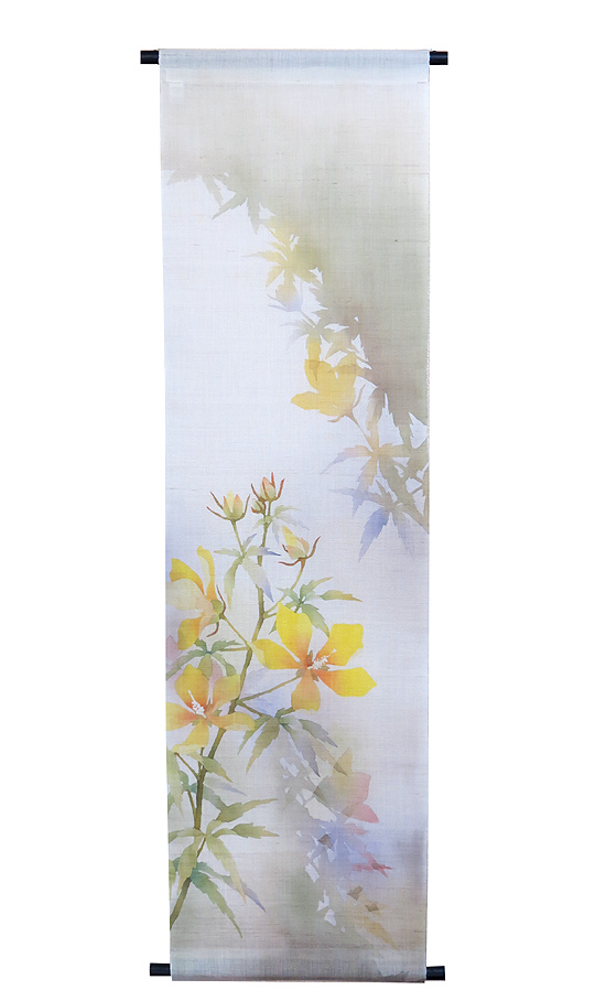 タペストリー・夏の庭/ 和モダン(夏 タペストリー)