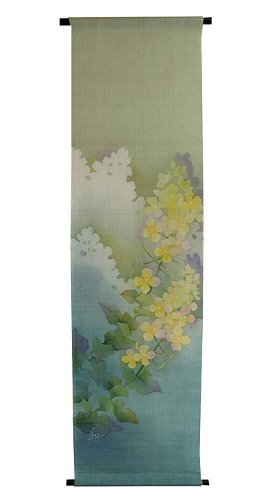 タペストリー・菜の花 / 和モダン