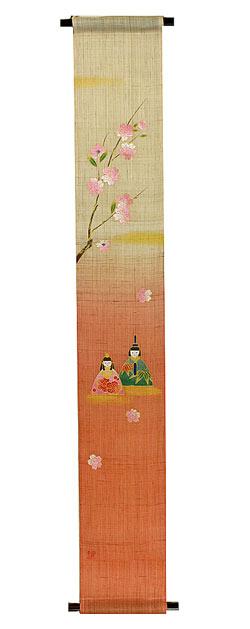 雛人形 ひな祭り /雛 タペストリー・稚児雛/ 四季のタペストリー