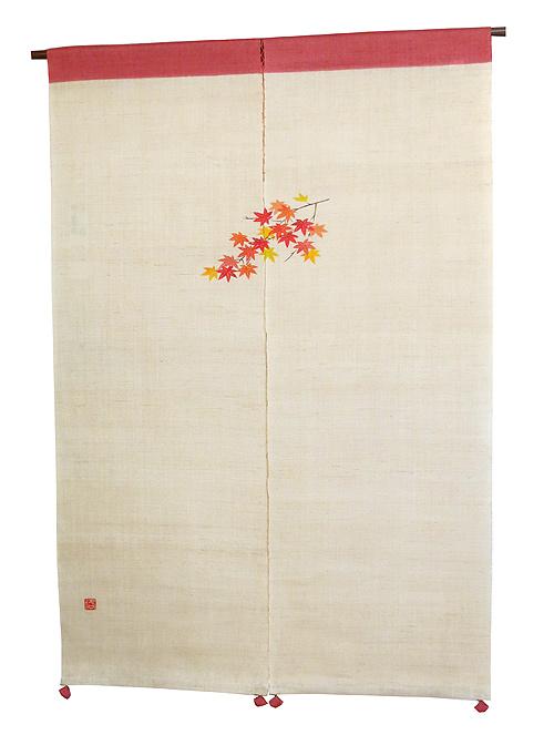 和風風音のれん・もみじ(暖簾) / 秋 のれん