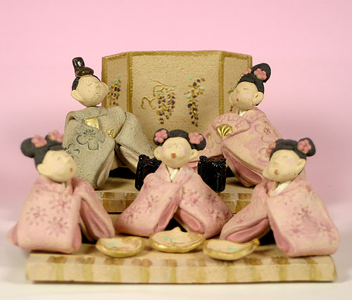 完璧 雛人形 ■陶器 ひな祭り 雛人形 ひな祭り/ひいな遊び(雛祭り)【親王飾り】 ■陶器, 五色町:55685f14 --- shop.vermont-design.ru
