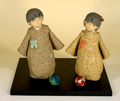 童人形・陶人形