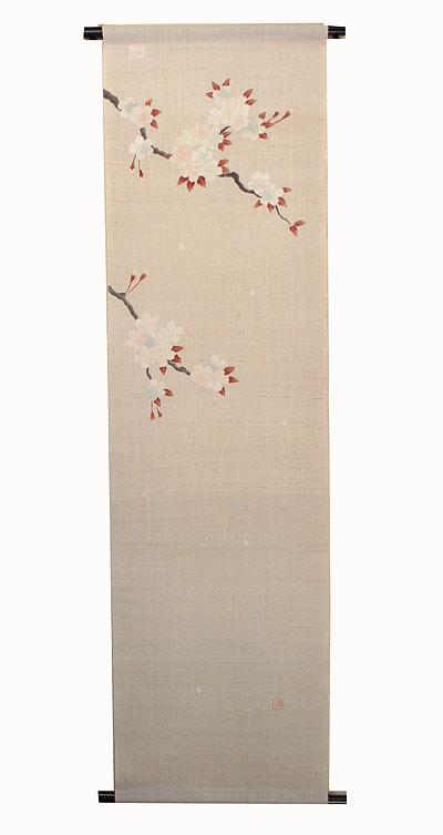 麻 桜 タペストリー:芳春(桜)受注制作