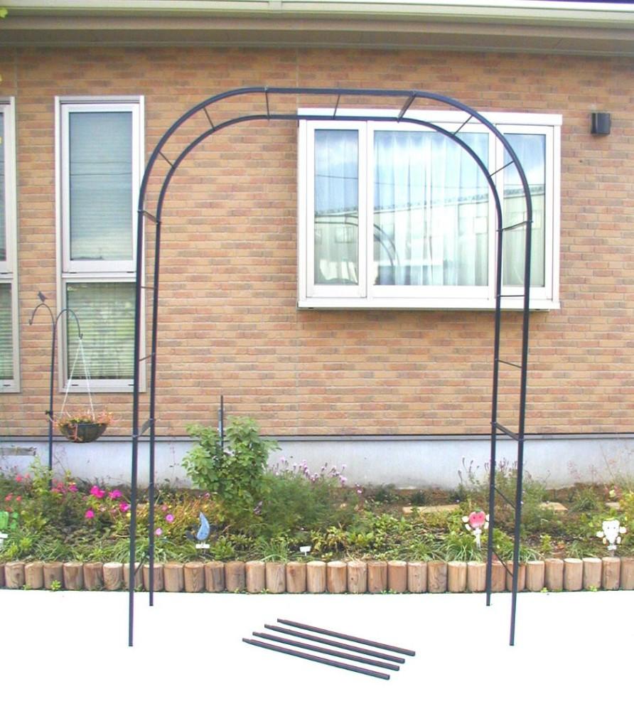 ストアー バラアーチ 未使用品 ガーデンアーチ GREEN GARDEN No.219 cm クレメント フラワーアーチ 160×210×52