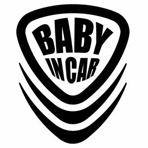 優しい運転 ブランド買うならブランドオフ 安全運転 赤ちゃんのためにペタっと BABY IN 贈与 CAR RR Ver.204 赤ちゃんが乗ってます 2枚組 ステッカー ハンドメイド カッティングステッカー ベビーインカー 幅約12.2cm×高約15cm