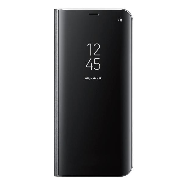 ギャラクシー 35%OFF 新入荷 流行 純正 ケース S8プラス カバー Galaxy S8+ Plus クリアビュー COVER EF-ZG955 ブラック VIEW スタンディング 海外純正品 STANDING CLEAR
