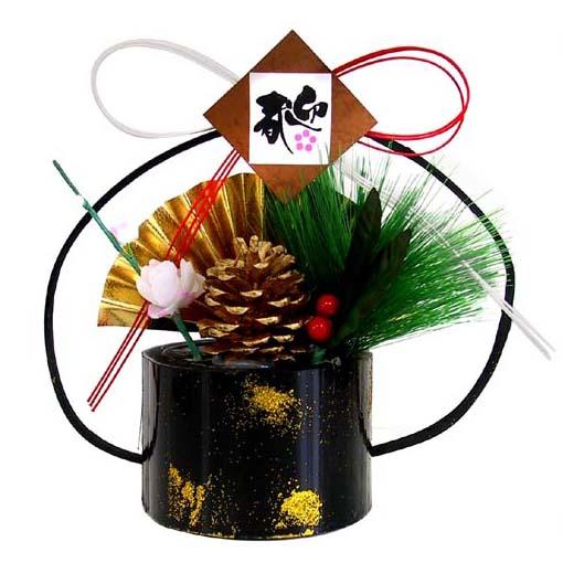 メーカー公式 リビングなどに飾れ これ一つで正月気分 置物飾り お買得 門松 お正月飾り 松竹梅