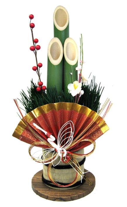 門松 中<BR>(40センチ)【門松】【お正月飾り】