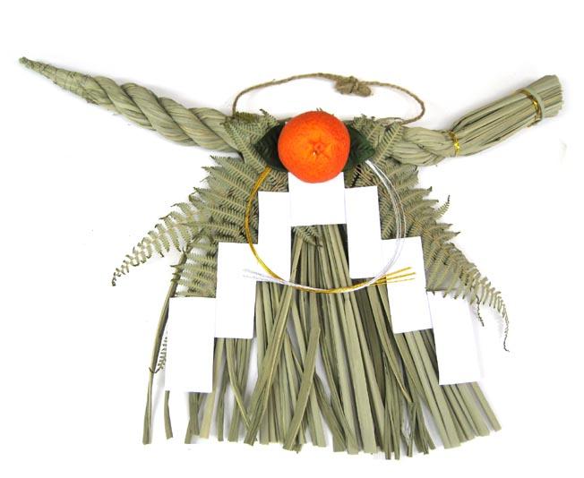 関西の伝統的な正月飾りです ゴンボ飾り 大 ☆国内最安値に挑戦☆ しめ飾り玄関用 お正月リース お正月玄関 関西型玉飾り お正月飾り 激安価格と即納で通信販売