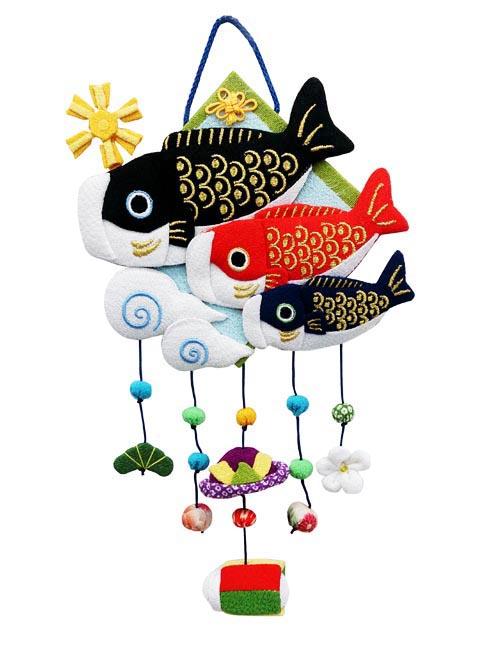 壁掛けの鯉のぼり飾りです☆ 変わり下げ飾り 豪華な こいのぼり 風車 ED-91 つるし飾り 今だけスーパーセール限定 かわいい おしゃれ 室内 五月人形 コンパクト