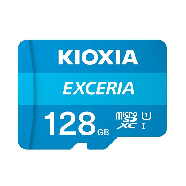 ゲーム機にもオススメ 最大100MB セール商品 sの読み出し速度で 撮影した写真や映像を手軽に再生 キオクシア microSDメモリカード 128GB 新作アイテム毎日更新 クラス10 UHSスピードクラス1 EXCERIA KCB-MC128GA KIOXIA 国内正規品 国内 日本語 パッケージ 旧: 128 SDカード 読み込み CLASS10 スマホ microSDXC 最大 東芝メモリ ゲーム機 100 s 速度 UHS-I MB カメラ SD