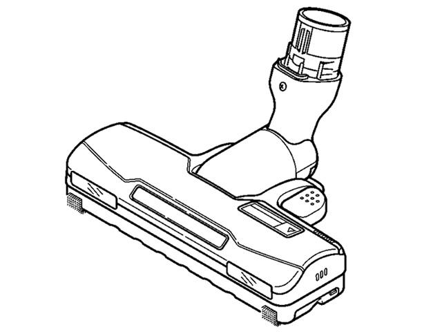 【送料無料】MC-SR31G MC-SC31RG 対応 掃除機 ヘッド パナソニック ナショナル 床用ノズル AMV85P-FS0U ※お取り寄せ商品