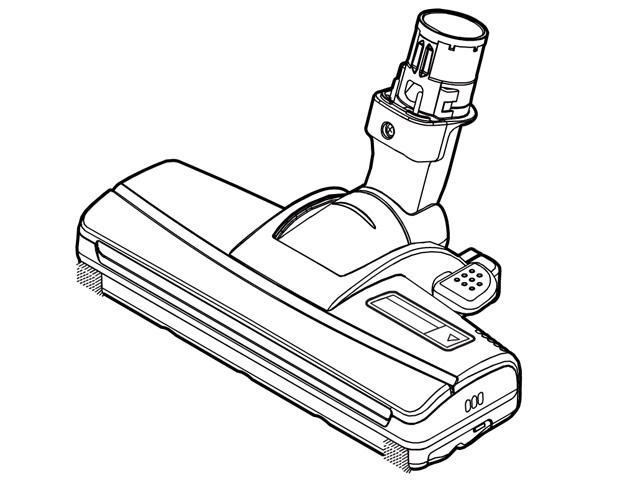 【送料無料】MC-BR31G-P 対応 掃除機 ヘッド パナソニック ナショナル 床用ノズル AMV85P-J407 ※お取り寄せ商品