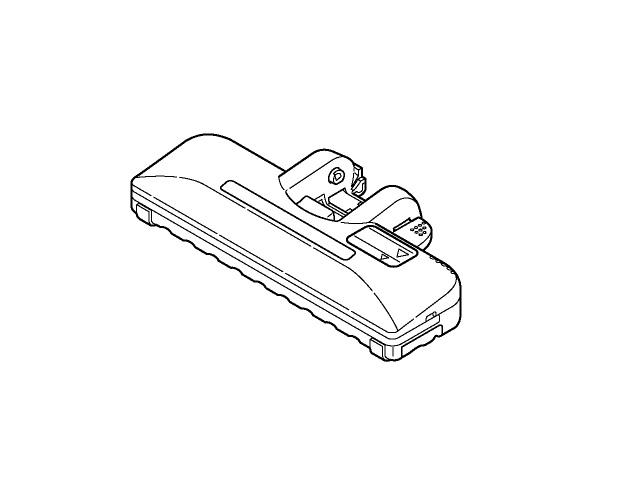 《セール期間クーポン配布!》【送料無料】掃除機 ヘッド パナソニック ナショナル 親ノズル AMV99R-BH0W ※お取り寄せ商品