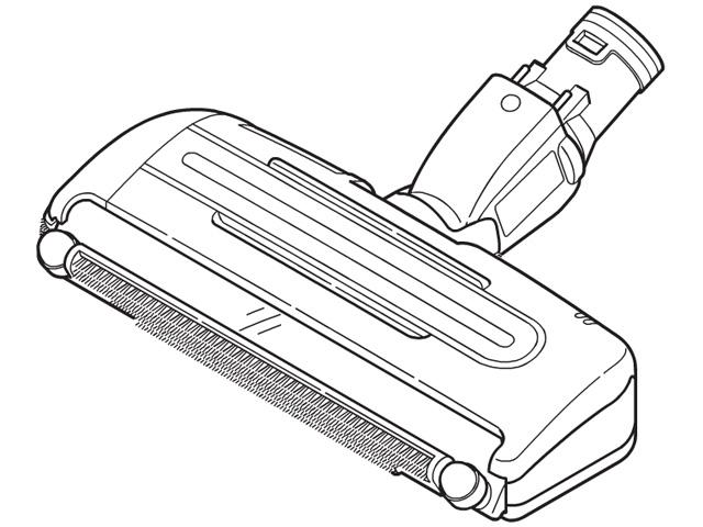 【送料無料】MC-SXD420-W 対応 掃除機 ヘッド パナソニック ナショナル 床用ノズル AMV99R-FQ0W ※お取り寄せ商品