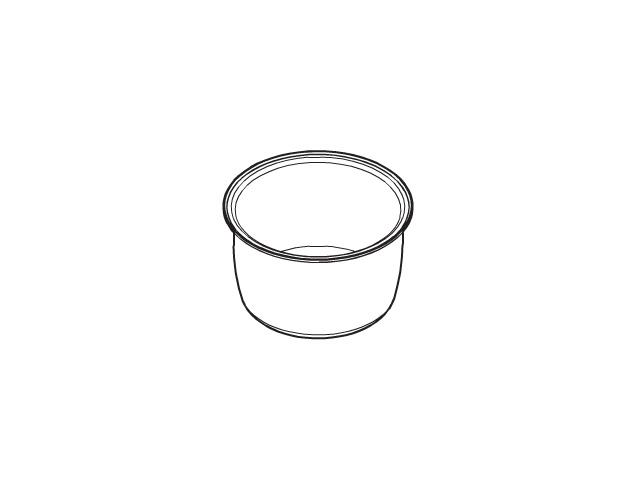 【送料無料】パナソニック 内なべ ARE50-F52 [panasonic 炊飯器 内釜 内カマ 電気ジャー 炊飯ジャー national ナショナル 松下]※取寄せ品