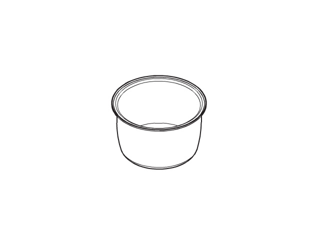 【送料無料】パナソニック 内なべ ARE50-F53 [panasonic 炊飯器 内釜 内カマ 電気ジャー 炊飯ジャー national ナショナル 松下]※取寄せ品
