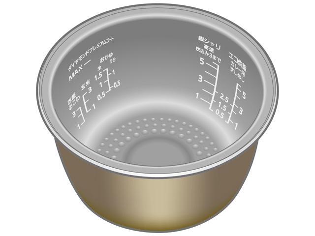 パナソニック 内釜 ARE50-G99 [panasonic 炊飯器 内釜 内カマ 電気ジャー 炊飯ジャー national ナショナル 松下]※取寄せ品