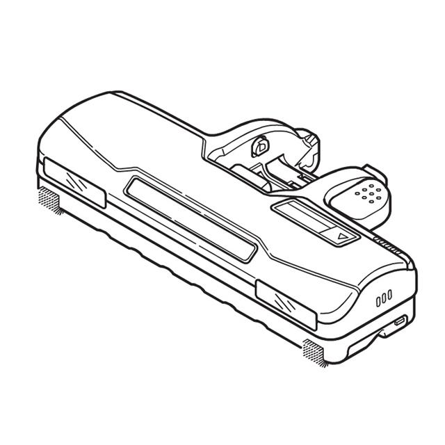 《セール期間クーポン配布》【送料無料】MC-PC34AG MC-PA34G-P MC-PA34G-W 対応 掃除機 ヘッド パナソニック ナショナル 親ノズル AMV99R-HD0W ※お取り寄せ商品