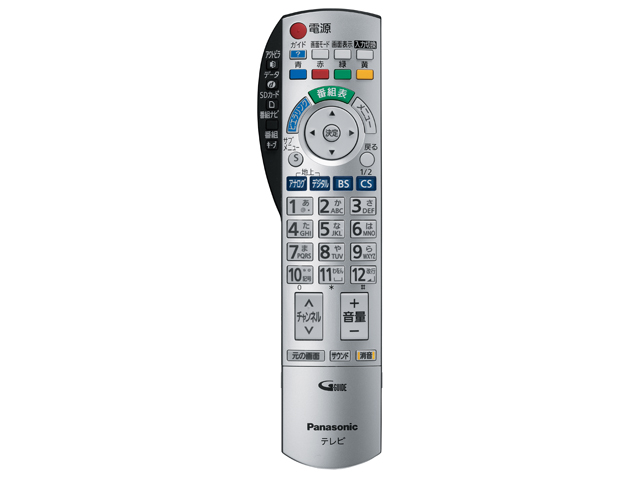 "Panasonic TV remote control ""Viera"" N2QAYB000201 * ill genuine"
