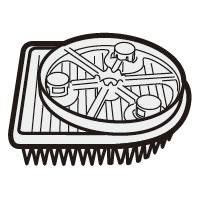 メーカー純正部品 《セール期間クーポン配布》シャープ 掃除機用 直営限定アウトレット 高性能プリーツフィルター 2173370535 SHARP 正規品 純正 部品 パーツ 新品 公式 交換