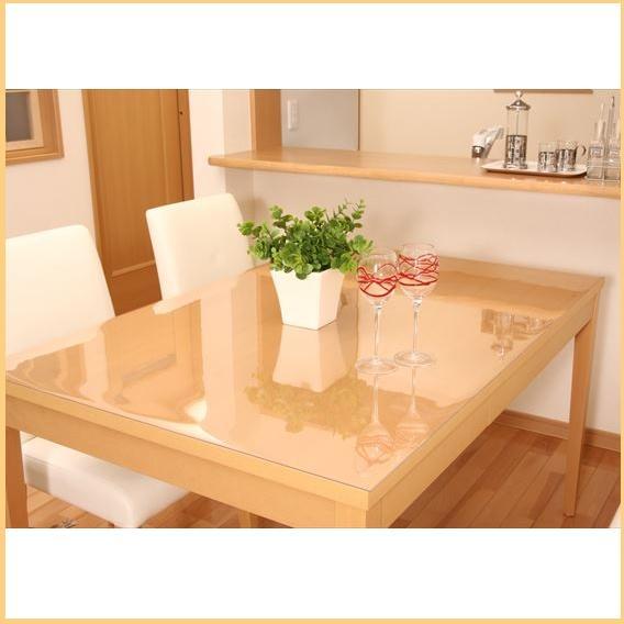 【スーパーセール限定価格】【ランキング1位獲得】透明テーブルマット 90×150cm 500送料無料 テーブルを保護します♪ テーブルマット スリップコート