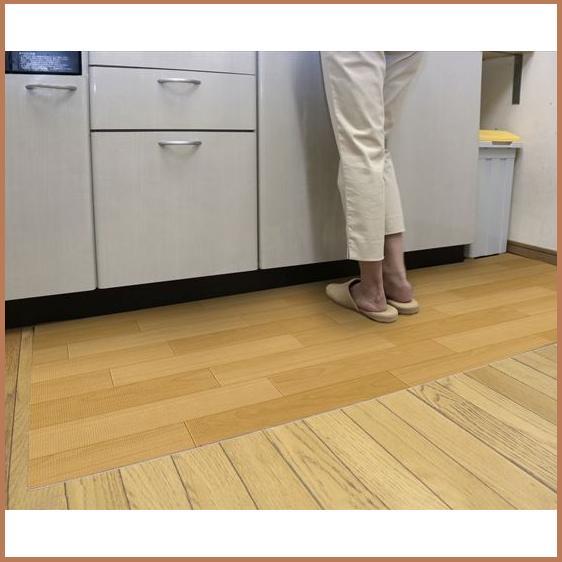 【ランキング1位獲得】キッチンフロアマット(プチリフォームマットシリーズ) 80×240 カーペット マット 畳キッチンをいつも清潔に♪ キッチン用マット マット