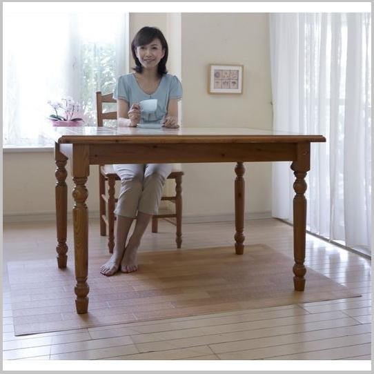 カーペット・マット・畳 マット ダイニングテーブル下保護マット(プチリフォームマットシリーズ) 90×150お部屋をいつも清潔に♪プチリフォーム マット ダイニング ダイニングテーブル 保護マット