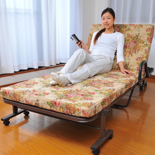 ゴブラン電動ベッド【すぐ使えるクーポン進呈中】ベッド 電動 リクライニングベッド 1599 ベッド 電動 リクライニングベッド 電動ベッド ゴブラン織り リクライニング リモコン