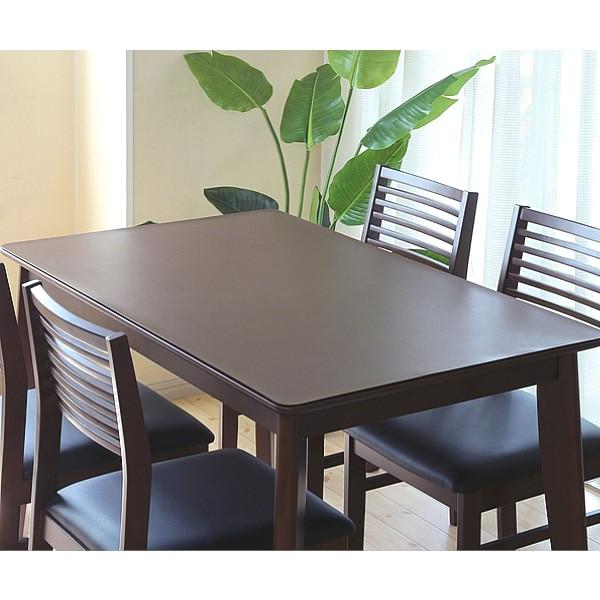 【ランキング1位獲得】キズや汚れを保護する レザー調 テーブルマット 45×150 096【クーポン進呈】送料無料 キズを隠せて新品同様のテーブルに見えます!日本製です! テーブルクロス テーブルマット 1mm 1.5mm キズ キズ 保護 滑り止め モダン おしゃれ 北欧 レ