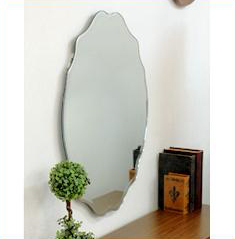 鏡 壁掛け 丸型 デザインウォールミラー SUC-012エレガントなノンフレームタイプ♪デザインウォールミラー SUC-012 SUC-012 ミラー 鏡 壁掛け SUC-012