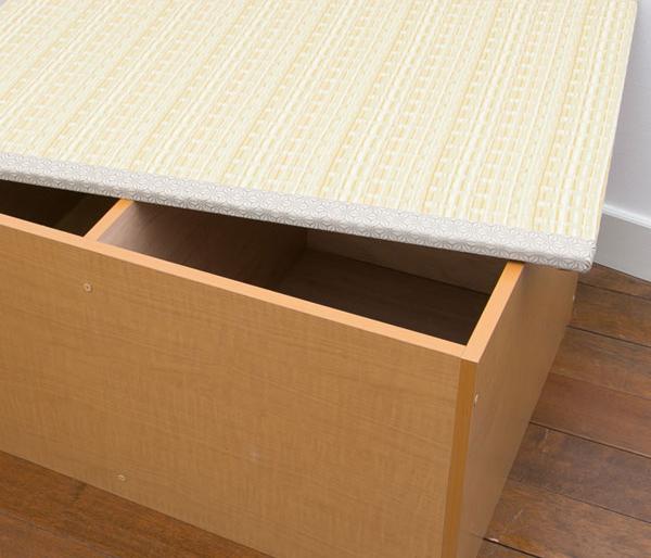 カーペット・マット・畳 畳 PP樹脂畳ユニットボックス ハイタイプ 幅180日本製!収納できる畳ボックス♪畳 スツール 収納 PP-L60-NA PP-L60-BR 和家具 畳 畳ボックス スツール 収納 ボックス ケPP-H180-NA PP-H180-B