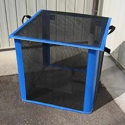 ゴミ箱 角型 自立ゴミ枠 折りたたみ式 黒 340L軽量コンパクトな折りたためるゴミ枠!9781 軽量 コンパクト 折りたためみ式 カラス対策 分別収集 固定 簡単