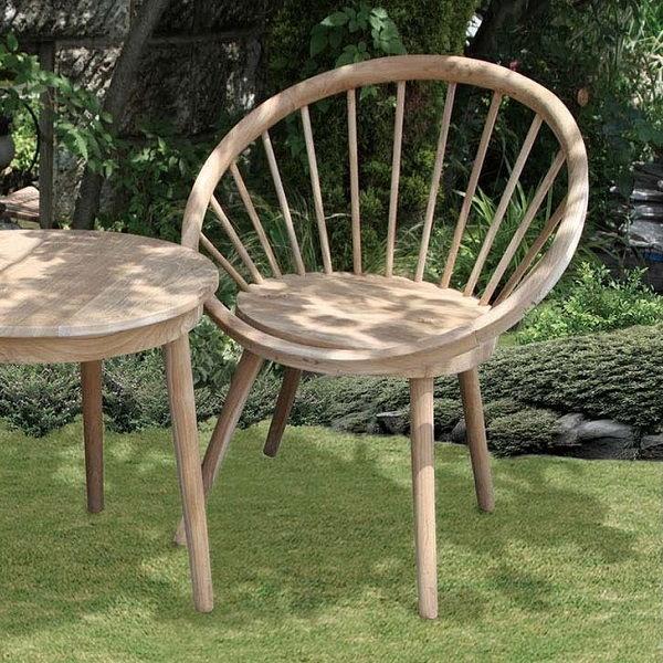 \300円OFFクーポン配布中/ 【ランキング1位獲得】 ポイント6倍 #p6 【ランキング1位獲得】チーク材の素敵なガーデンチェア 00439303 ガーデニング お洒落 庭 木製 チーク材 イングリッシュガーデン 椅子 いす チェア