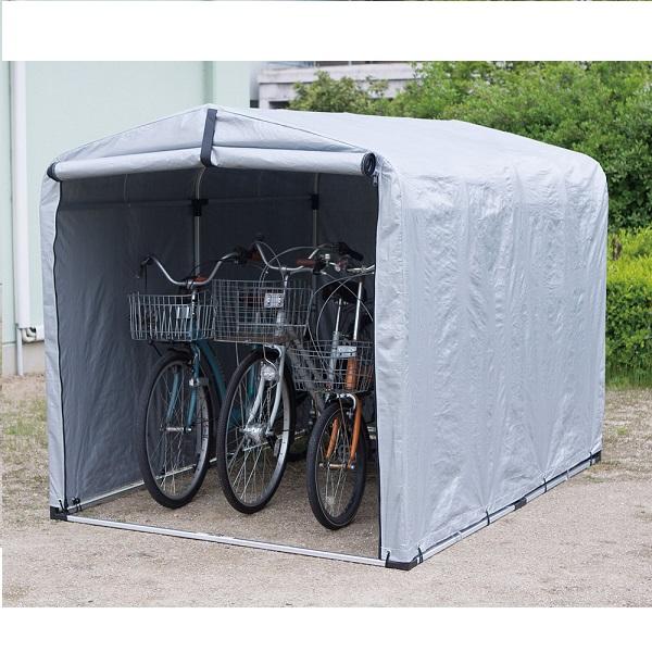 サイクルハウス 小 花・ガーデン・DIY エクステリア・ガーデンファニチャー ガレージ バイク・自転車用ガレージFL-1474 自転車 ハウス 駐輪 バイク