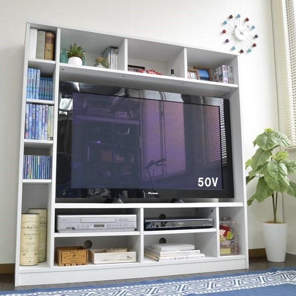 50インチ対応 135幅 テレビ台 壁面 収納ゲート型 収納家具 テレビ台・ローボードTVB-135 テレビ台 TV台 テレビラック 壁面収納 リビング 50インチ ゲート型 お洒落 モダン テレビボード 収納