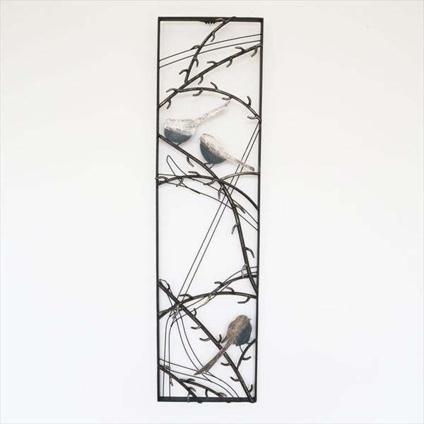壁紙・装飾フィルム アートパネル・アートボード ウォールアートパネルB デザイン鳥1808TSF002 壁飾り ウォールアート ウォールデコレーション 和風