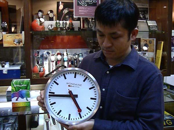【楽天市場】mondaine モンディーン 壁掛け時計 ウォールクロック ホワイト 25cm スイス国鉄オフィシャル